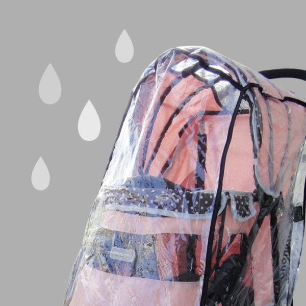 Universal pet stroller raincover